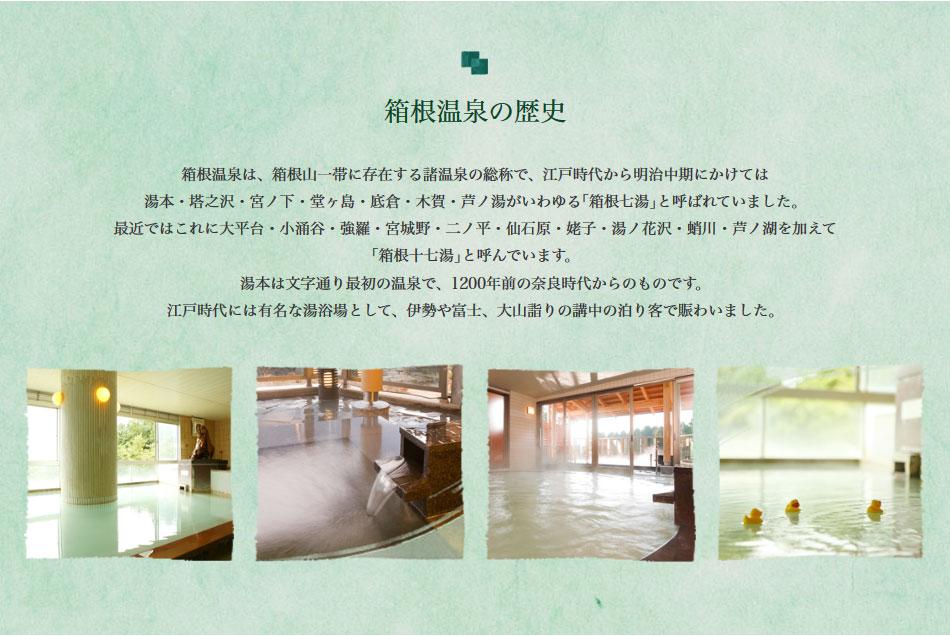 箱根温泉の歴史