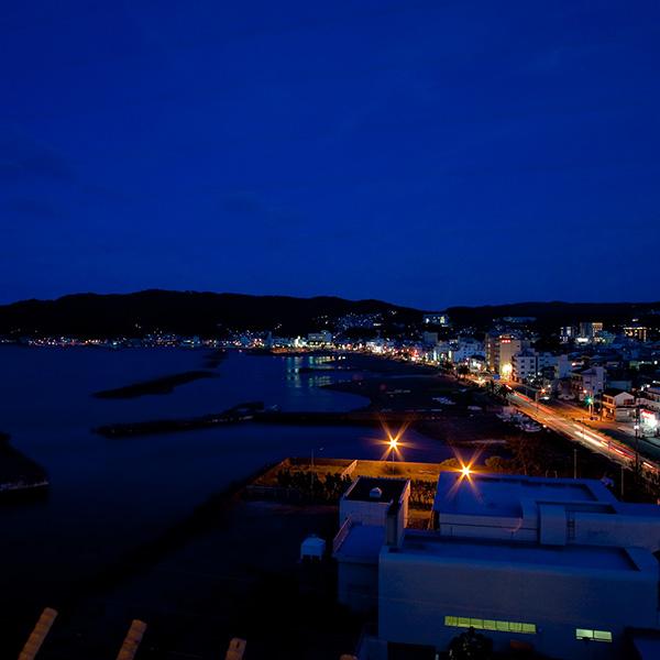 ビーチラインと夜景